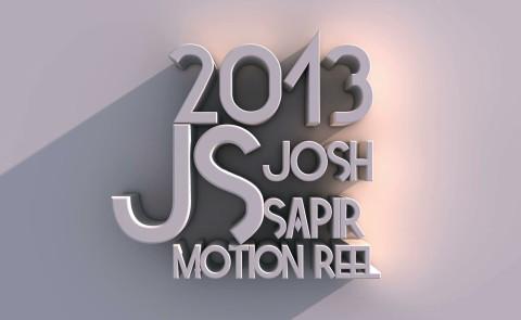 JS 2013 Motion Reel